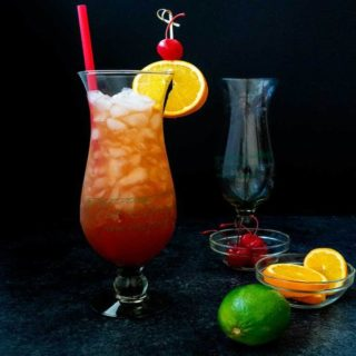 New Orleans Hurricane Drink