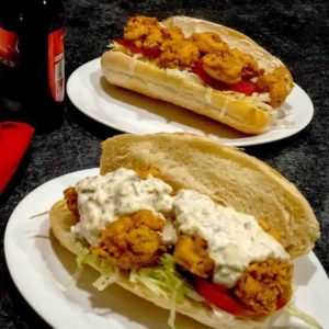 New Orleans Shrimp Po 'Boy
