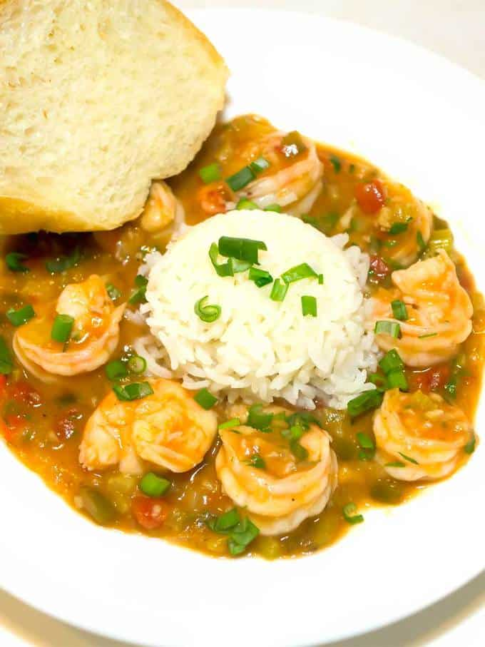 Spicy New Orleans Shrimp Étouffée