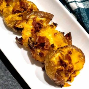 Crispy Loaded Potato Smashers