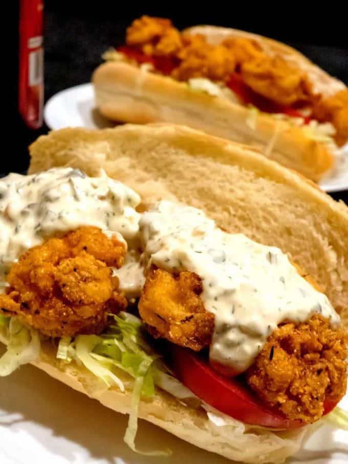 New Orleans Shrimp Po Boy