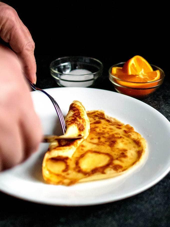 Rolling Pancake Day Pancake