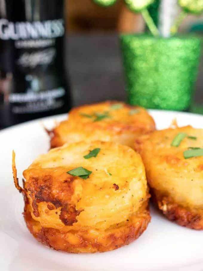Irish Stacked Potato Bites