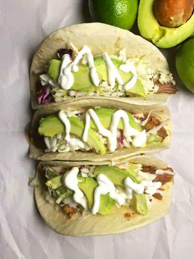 Easy Slow Cooker Pulled Tacos