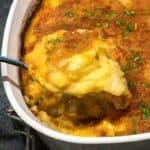 Easy Cheesy Potato and Onion au Gratin