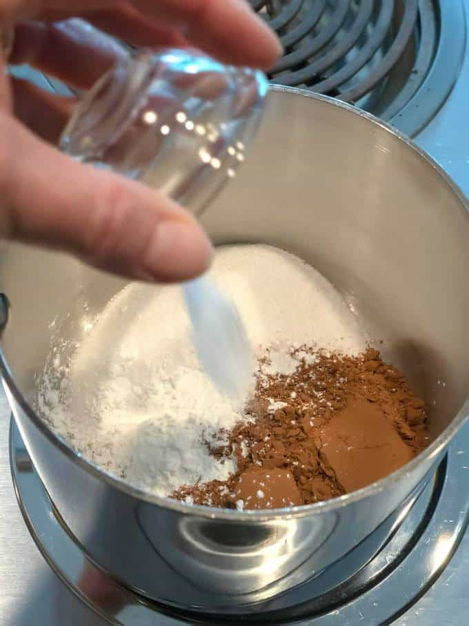 Adding Salt to Intensely Chocolate Grown-Up Fudgesicles