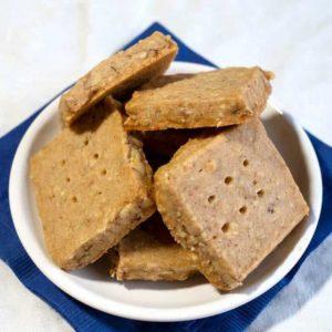 Oatmeal Spice Shortbread