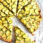Three Cheese Zucchini Tart