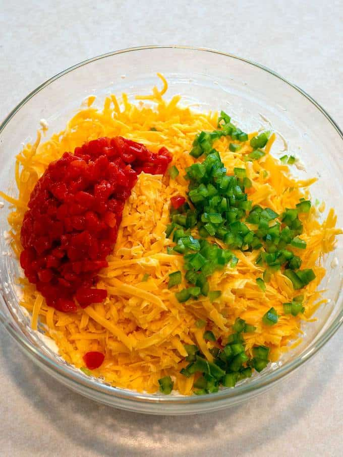 Remaining Ingredients for Tasty Southern Pimento Cheese