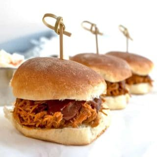 Instant Pot Pulled Chicken Sliders