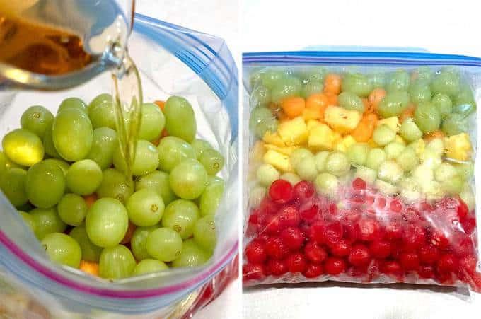 Finishing Fruit for Grande Fruit Bowl