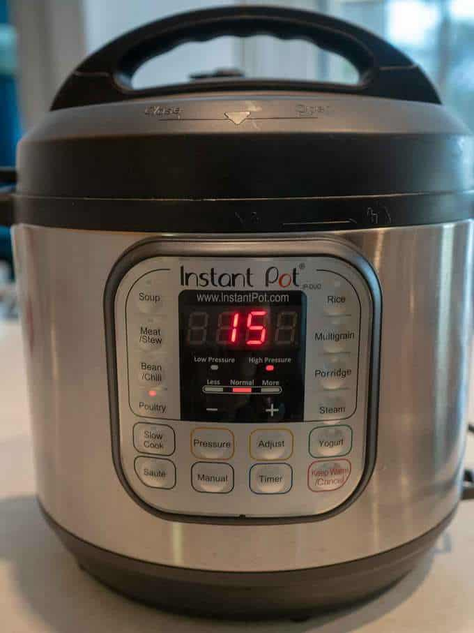 Instant Pot Setting for Pulled Chicken