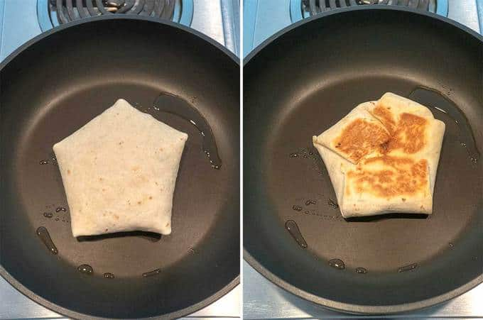 Cooking the Tasty Breakfast Quesadilla Wraps