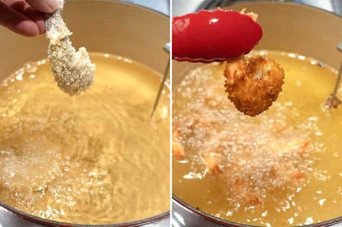 Cooking the Crispy Crunchy Fried Shrimp