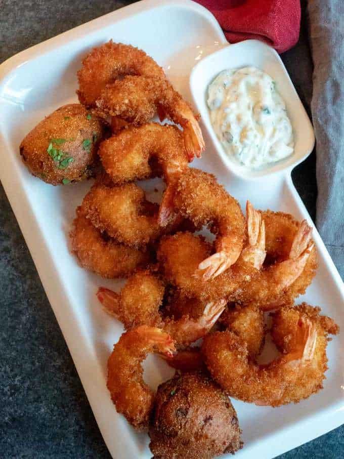 Crispy Crunchy Fried Shrimp