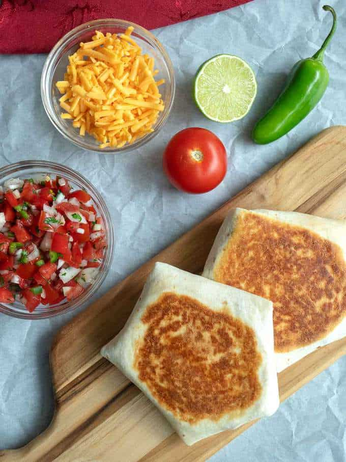 Tasty Breakfast Quesadilla Wraps