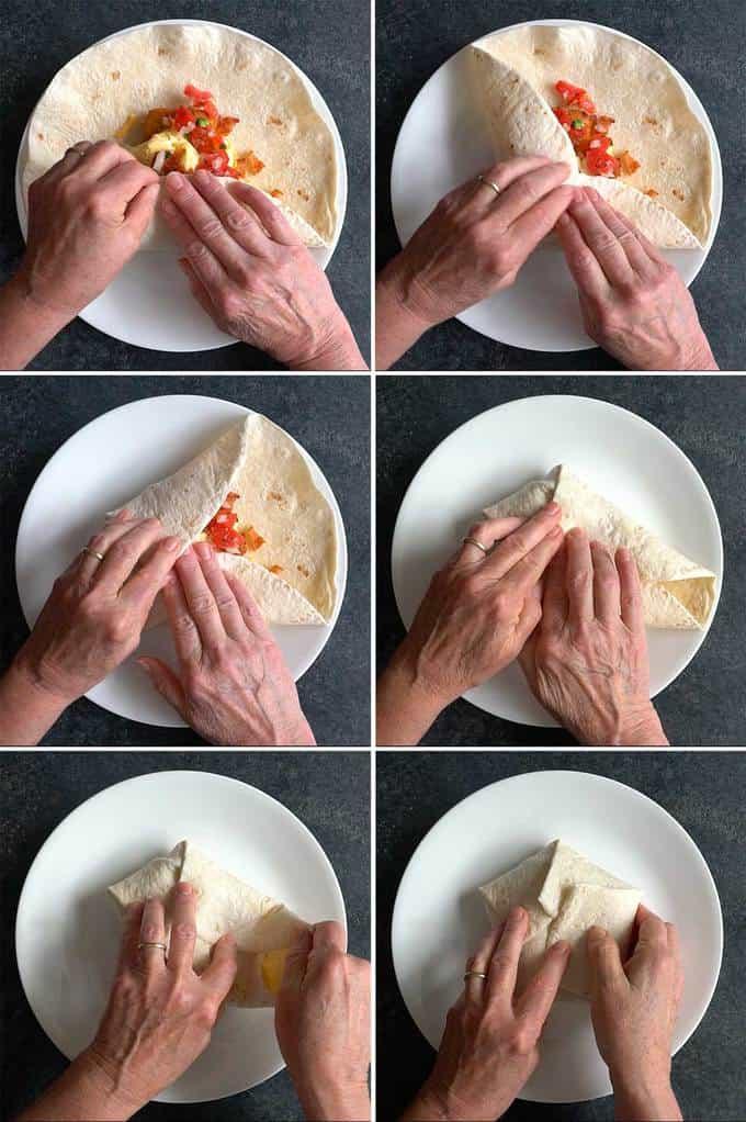 Wrapping Tortilla for Tasty Breakfast Quesadilla Wrap