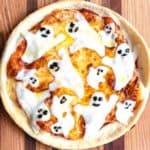 Halloween Ghost Pizza