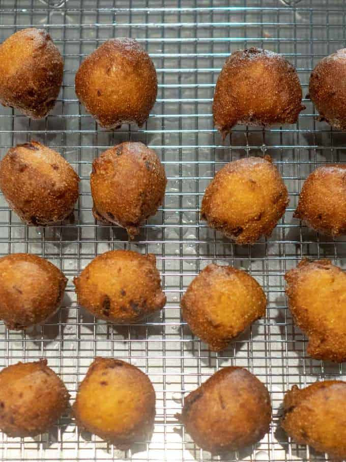 Draining the Southern Hush Puppies
