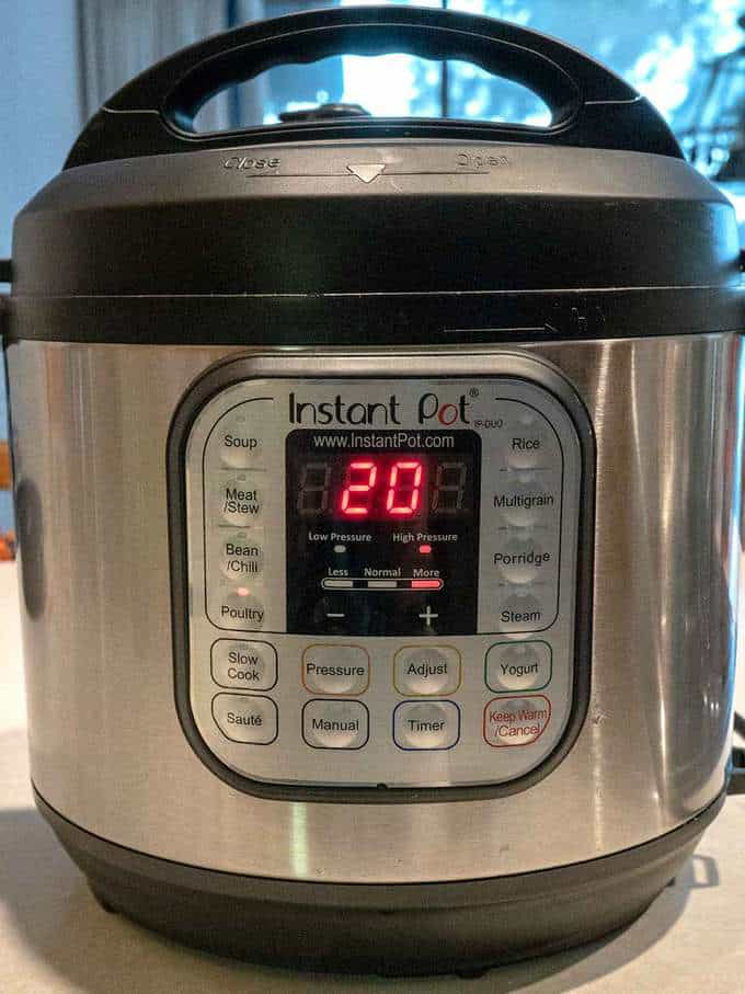 Instant Pot Settings for Instant Pot Chicken Noodle Soup