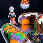 Halloween Surprise Bundt Cake