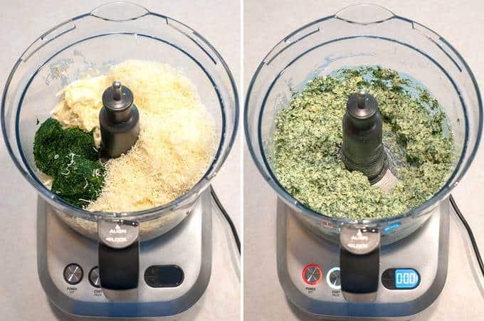 Making Spinach Artichoke Dip