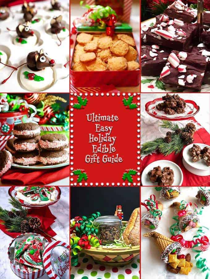 Ultimate Easy Holiday Edible Gift Guide