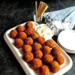Cajun Pork Boulettes with Spicy Dip