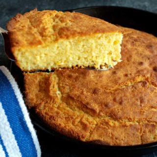 Louisiana Skillet Cornbread