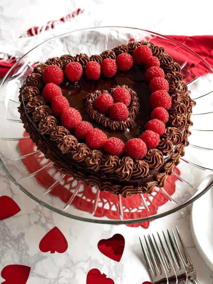 Flourless Chocolate Cake for Valentines