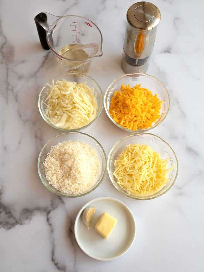 Ingredients for Fromage Fort