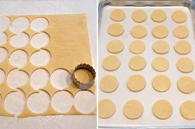 Cut Shortbread Cookies