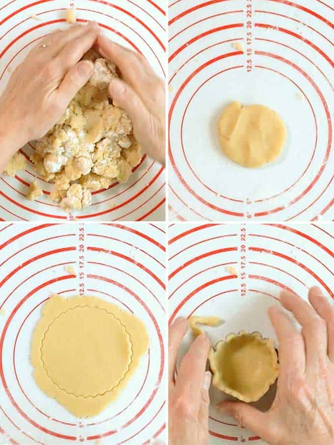 Forming Mini Tart Shell
