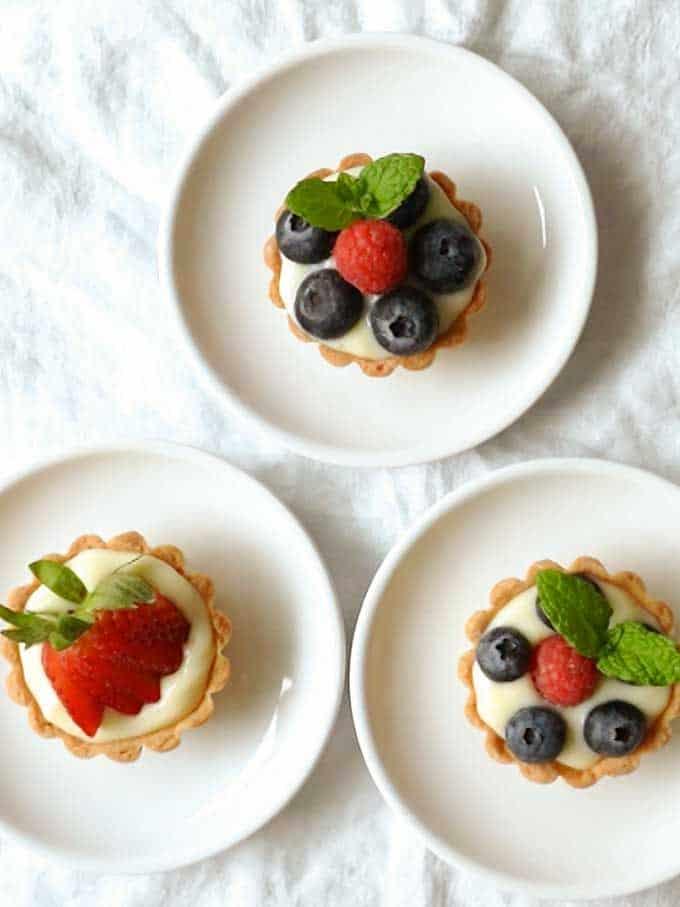 Pate Sucree: French Tart Shells