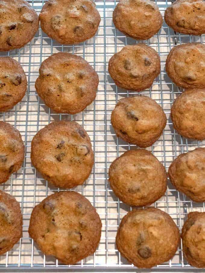 Tate's Bake Shop Cookies Cooling