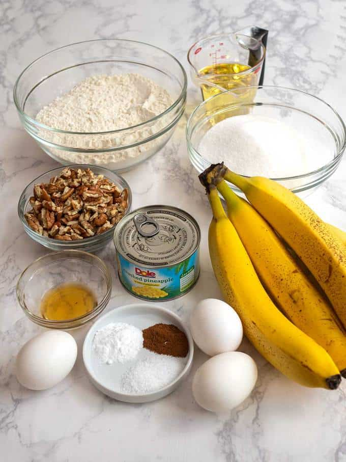 Ingredients for Cakes