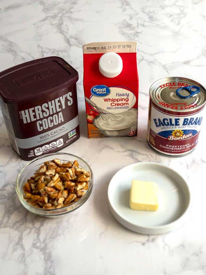 Ingredients for No-Churn Ice Cream
