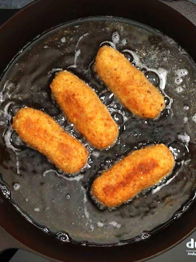 Cooking Glamorgan sausages