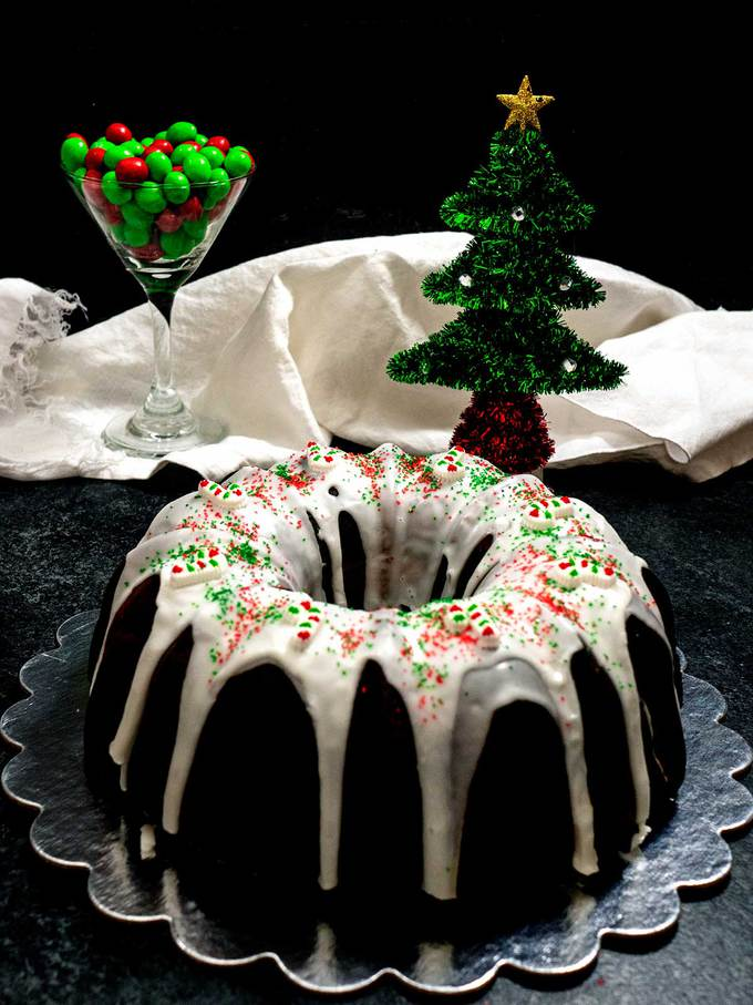 Christmas Surprise Bundt Cake