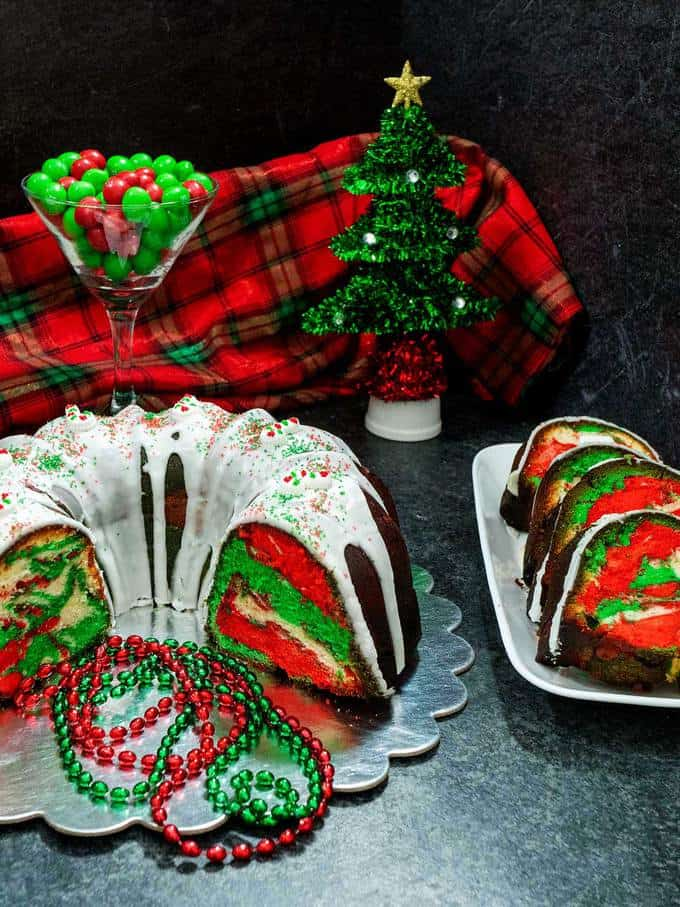 Surprise Christmas Lemon Bundt Cake