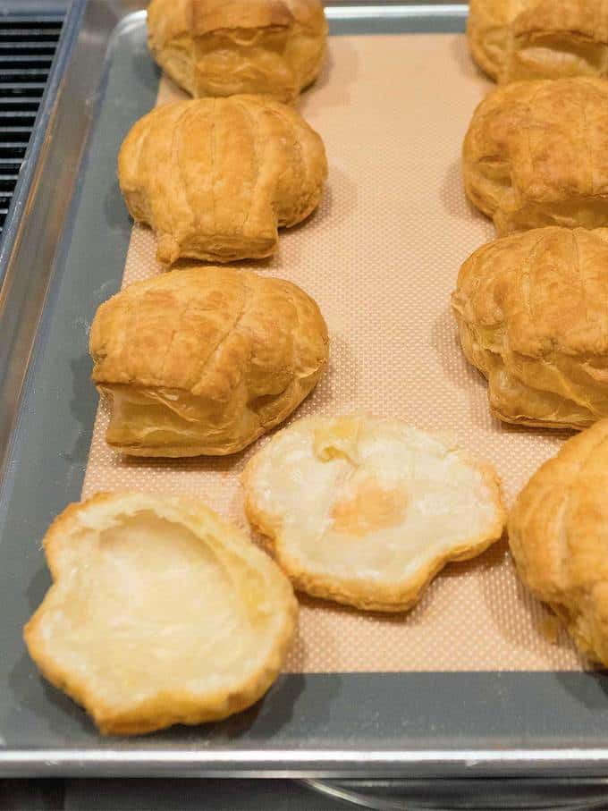 Baked Puff Pastry Shells