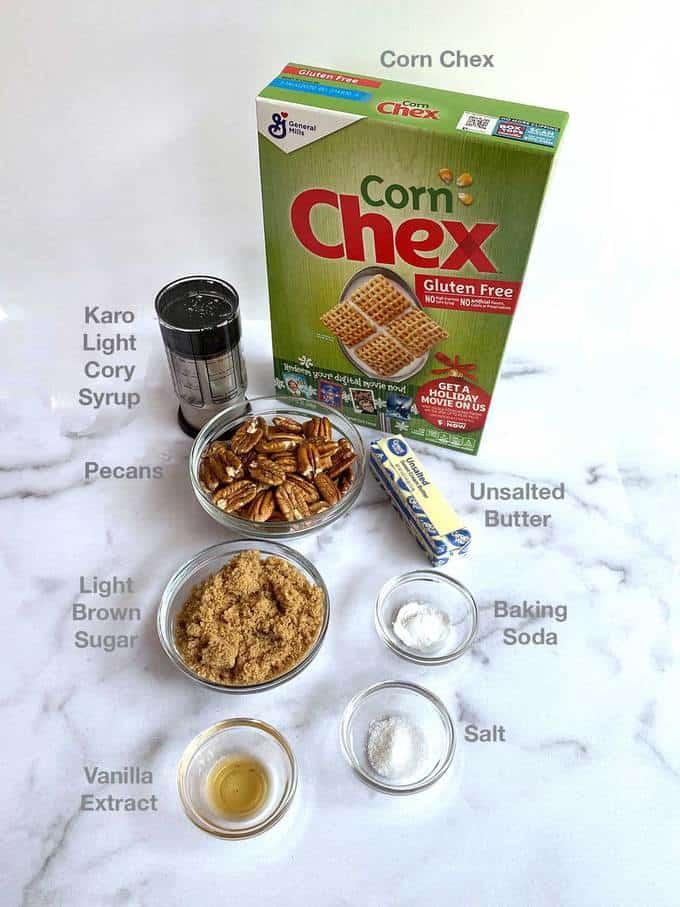 Ingredients for Praline Crunch