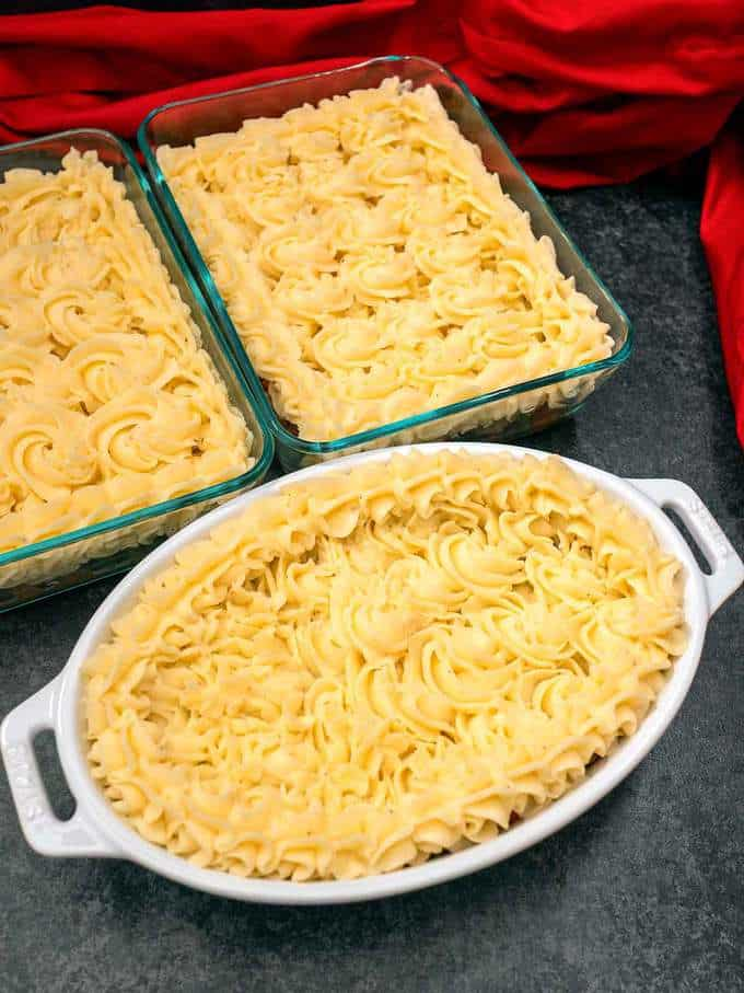 Cottage Pies Ready to Cook or Freeze