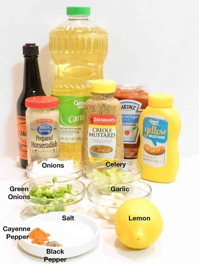 Ingredients for Remoulade Sauce