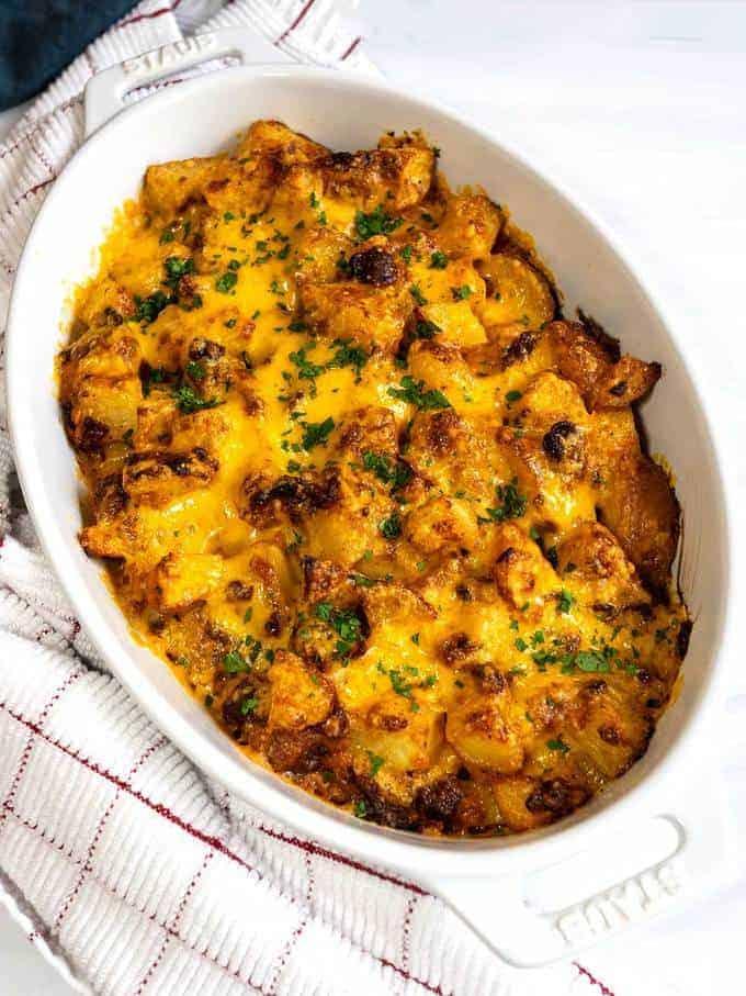 Cheesy Bacon Ranch Potatoes