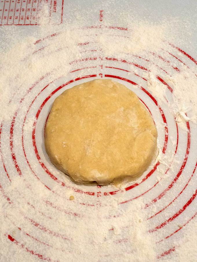 Pate Brisee dough disk