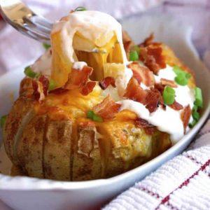 Loaded Bloomin' Potato