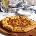 Cheesy Tomato Onion Galette