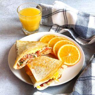 Breakfast Tortilla Hack