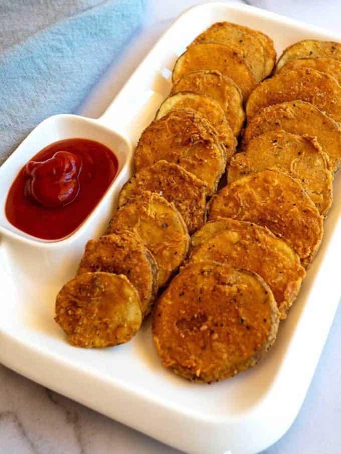 Crispy Mojo Potatoes